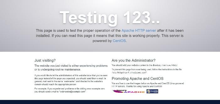 How to Install Apache on CentOS 7 Server - TecNStuff