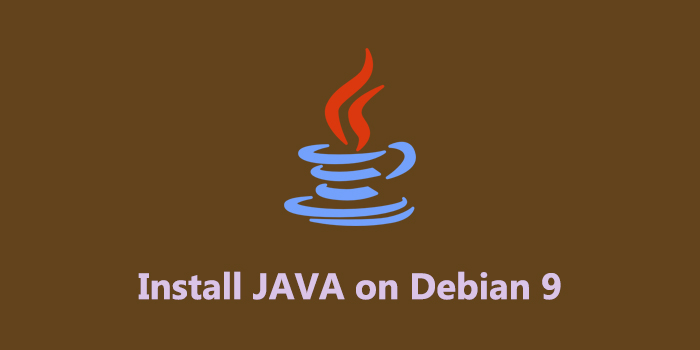 How to Install Java on Debian 9