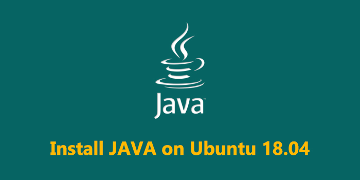 How to Install Java on Ubuntu 18.04