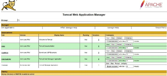 how to install tomcat 9 application manager