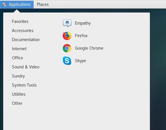 CentOS Google Chrome Open Browser