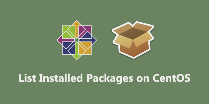 List Installed Packages on CentOS