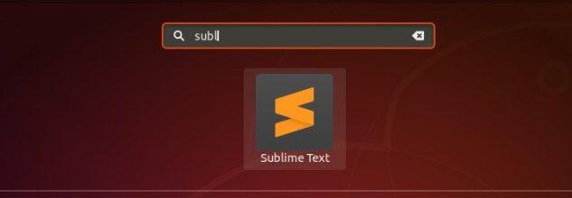 ubuntu-start-sublime-text