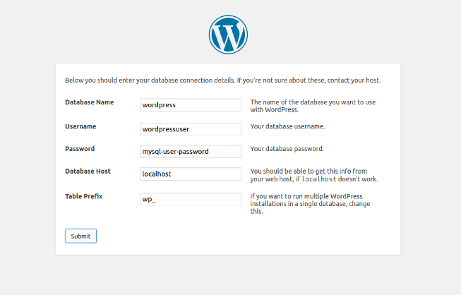 wordpress-database-information