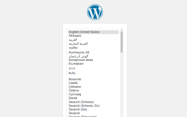 wordpress-language-selector