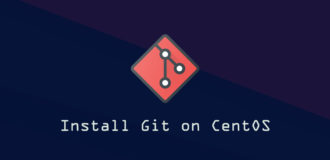How To Install Git on CentOS 8 Linux