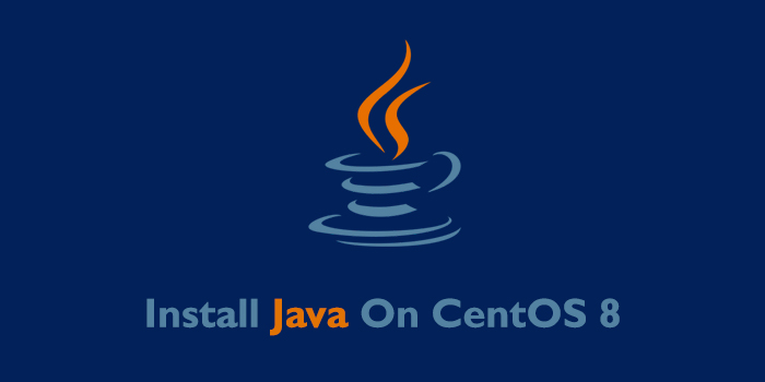 How to Install Java on CentOS 8