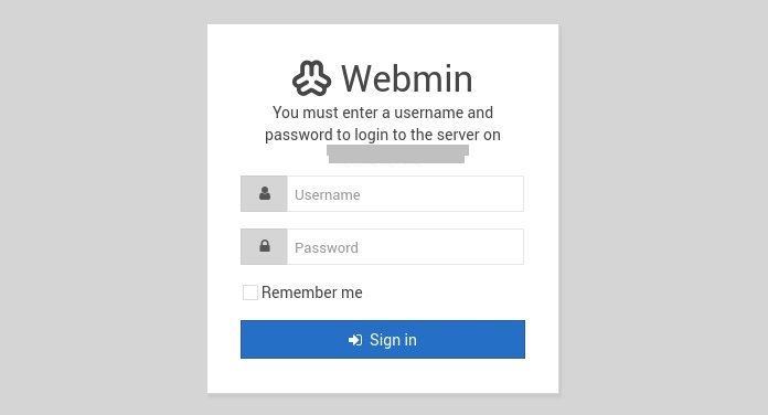 webmin-login-form