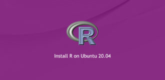 How to Install R on Ubuntu 20.04
