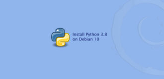 How to Install Python 3.8 on Debian 10