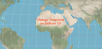 How to Set or Change Timezone on Debian 10