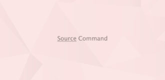 Source Command