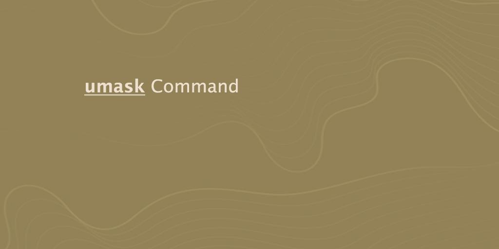 umask Command
