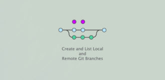 Create and List Local and Remote Git Branches