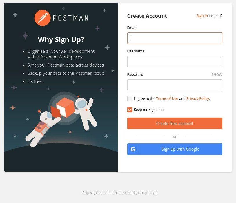 ubuntu-postman-login
