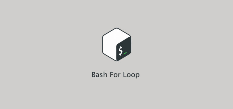 Bash For Loop