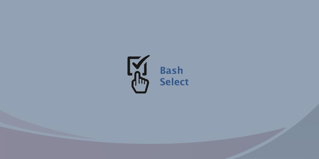 bash select