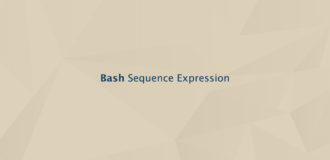 Bash Sequence Expression (Range)
