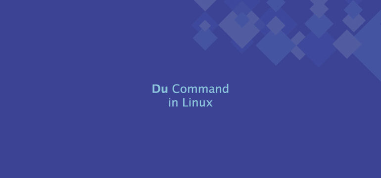 Du Command in Linux
