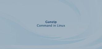 Gunzip Command in Linux