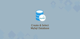 How to Create and Select MySQL Databases