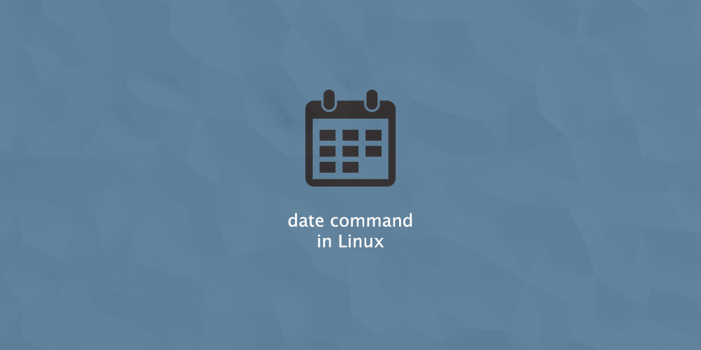Date Command in Linux