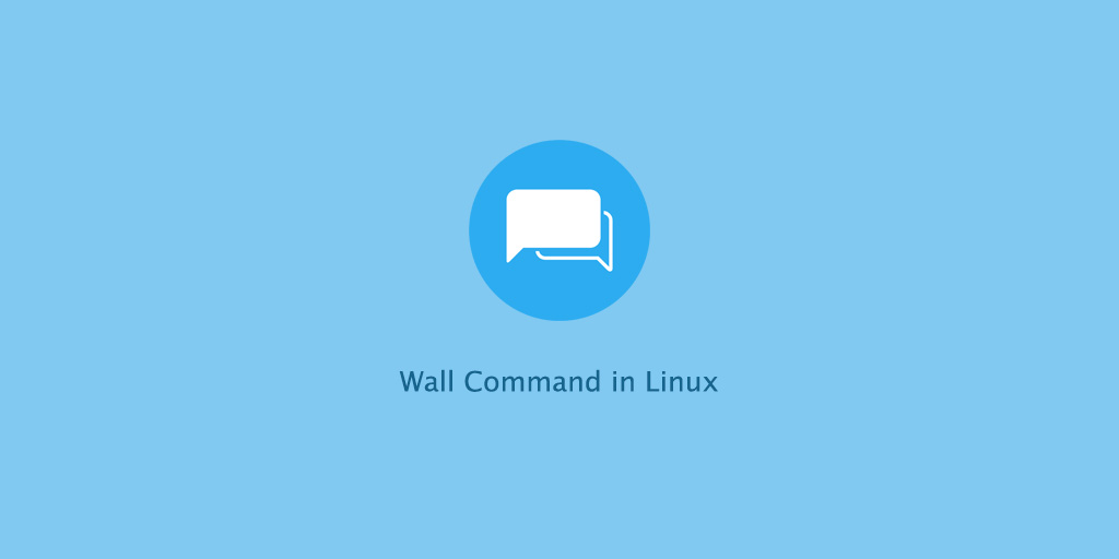 Wall command in Linux