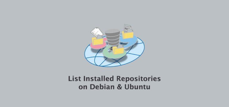 How to List Installed Repositories In Ubuntu & Debian